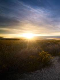 Big Bend National Park February Sunset wander_drifter