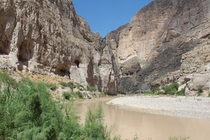 Big Bend National Park on the TexasMexican border