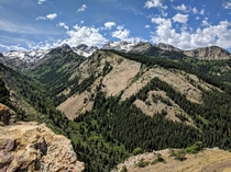 Big Cottonwood Canyon Wasatch Mountains UT