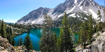 Big Pine Lake California - July th  - The  mile hike is worth the reward of this glacier lake