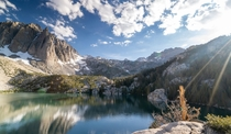 Big Pines Lakes nd Lake - Inyo National Forest