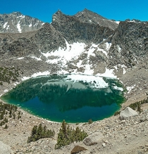Big Pothole Lake Kearsarge Pass California