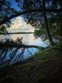 Big Rideau Lake at Murphys Point Provincial Park Ontario Canada  OC