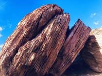 Big rocks and blue sky Redrock canyon Las Vegas NV x