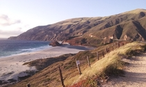 Big Sur California - I did not want to get back in the car and drive off  OC