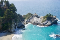 Big Sur McWay Falls Central California coast Can you hear the waves