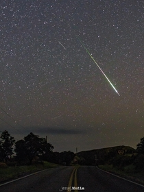 Biggest and Brightest from Perseid Meteor Shower  in Southern Arizona OC