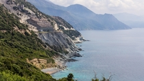 Biggest European asbestos mine Corsica