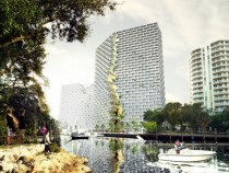 BIGs Marina Lofts in Fort Lauderdale has received approval by city council  render