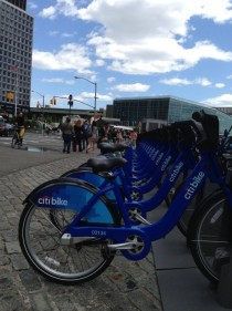 Bike Sharing comes to NY City