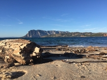 Biking along the Sardinian coastline brings you to many beautiful beaches Capo Coda Cavallo