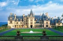 Biltmore House - Asheville North Carolina USA - Chteauesque-style mansion built for George Washington Vanderbilt II in  by New York architect Richard Morris Hunt in the French Renaissance style