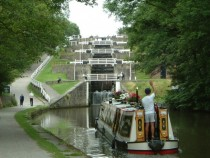 Bingley Five Rise Locks Leeds and Liverpool Canal