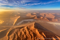 Birds eye view in Namibia Photo by James Gradwell