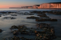 Birling Gap located in the South East of England near Beachy Head