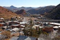 Bisbee Arizona desert mining village