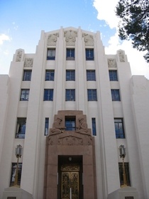 Bisbee Arizonas art deco courthouse dedicated in August of   x-post rBisbee