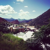 Bisbee AZ First time seeing it during the day