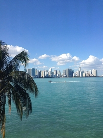 Biscayne Bay Miami Florida