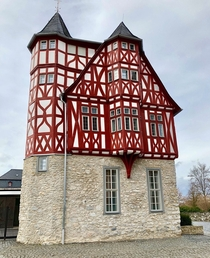 Bischofliches Haus Old Vicariate - Limburg Germany - Timber-Framed Bishops House built in the th century