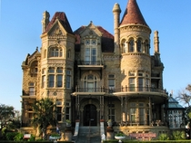 Bishops Palace in Galveston TX USA Designed by Nicholas J Clayton built