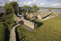 Biskupin is the most famous archeological site in Poland and one of the best sites in Europe The site was reconstructed and serves as a life-size model of Iron Age fortified settlement The site was probably established before  BC