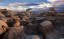 Bisti Badlands in San Juan County New Mexico  unknown author