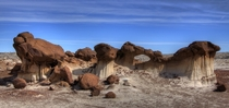 Bisti Badlands New Mexico USA by PDTillman