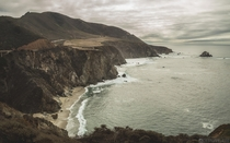 Bixby Bridge Coastline Big Sur CA