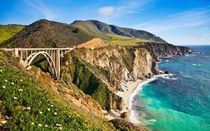 Bixby Creek Bridge Big Sur CA
