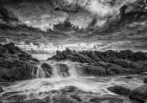 Black and White Wyadup Rocks Western Australia OC x