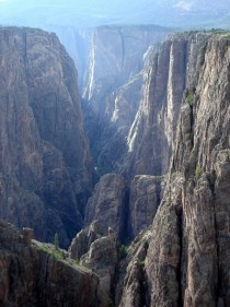 Black Canyon of the Gunnison National Park USA