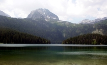 Black Lake Durmitor National Park Montenegro