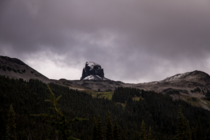 Black Tusk in the Garibaldi Provincial Park BC