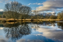 Black Water Loch Lomond and The Trossachs National Park Scotland