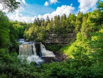 Blackwater Falls Davis West Virginia