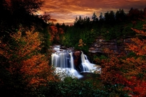 Blackwater Falls State Park Mercer County West Virginia by Troy Lilly