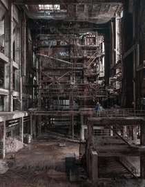Blade Runner  Abandoned Power Plant in Hungary