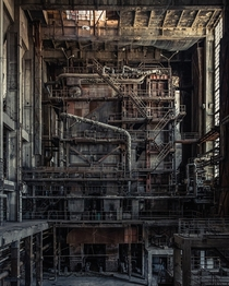 Blade Runner power plant in Hungary