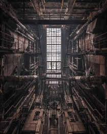 Blade Runner  The boiler house of a abandoned Hungarian power plant