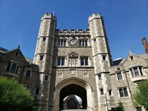 Blair Arch at Princeton University