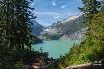 Blanca Lake and the Columbia Glacier Washington State