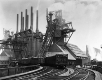 Blast furnaces of the Carnegie Steel Corp