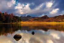 Blea Tarn in the Lake District England  by Graeme Pattison
