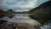Bleak day at Wasdale UK