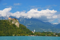 Bled Slovenia from afar Stunning
