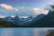 Blissful Cosley Lake Glacier National Park USA