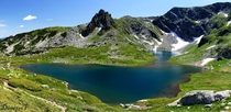 Bliznaka lake in Rila Bulgaria