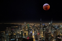 Bloodmoon Over Chicago