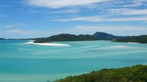 Blue and Green Hill Inlet Withsunday Islands Australia